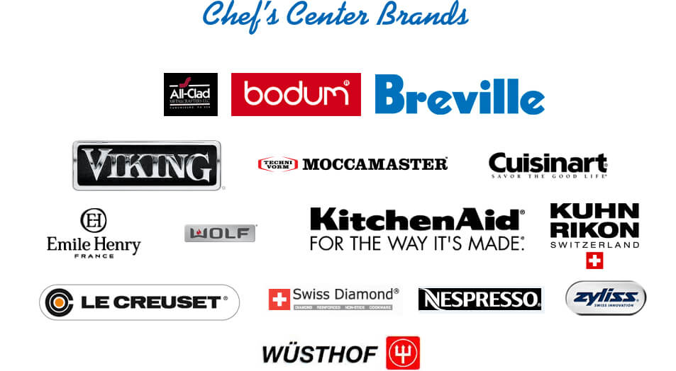 Many brands to choose from!